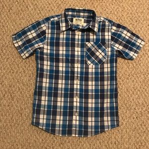 Urban Pipeline Button Down Shirt-Boy's Large